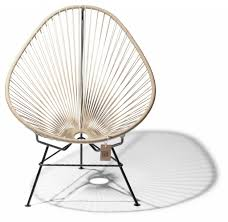 Acapulco Chair Replica Beige Acapulco Chair The Original Acapulco Chair U003c La Silla