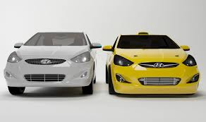 hyundai car models 3d model hyundai accent cgtrader