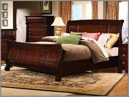 King Size Leather Sleigh Bed with Leather Sleigh Bed Cindy Crawford Astoria Leather King Sleigh Bed