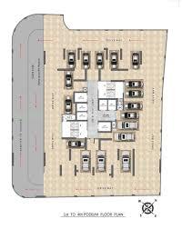 Podium Floor Plan by Overture Floor Plan