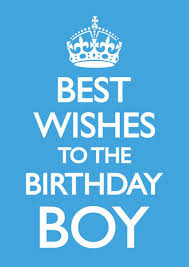 best wishes to the birthday boy funny birthday card dms 45