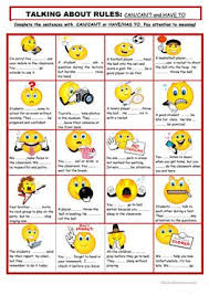 15 free esl reading rules worksheets