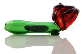 glass roses pipe