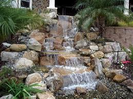 Waterfall For Backyard by Pond Less Waterfalls Blue Thumb