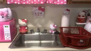 hello kitty kitchen tour youtube