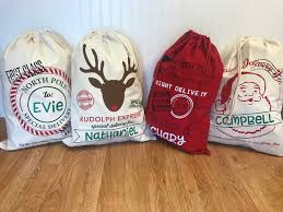 santa sacks personalized santa sacks make it personal by mm