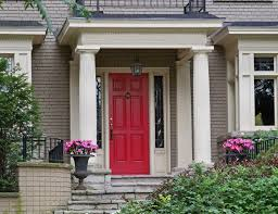what does a red front door mean arafen