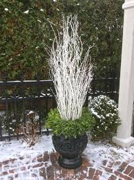 Decorate Outside Urn Christmas by 1052 Best Christmas U0026 Winter Pots Images On Pinterest Christmas