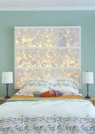 Cool Bedroom Lighting Ideas Lighting Led Headboard Bedroom String Lights 20 Cool Diy String