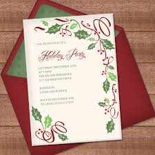 christmas invitations christmas invitation template with border design