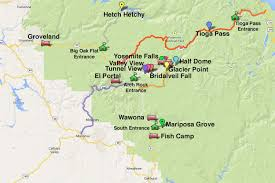 Yosemite Valley Map Hetch Hetchy Reservoir At Yosemite What To Know
