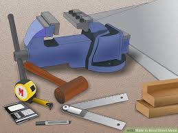 How To Build A Bench Vise How To Bend Sheet Metal 13 Steps With Pictures Wikihow
