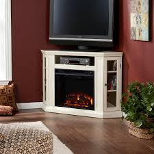 home decor new white electric fireplace entertainment center