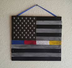 911 Flag Photo Officers Down Thin Blue Line Police Fire Ems 911 Dispatcher