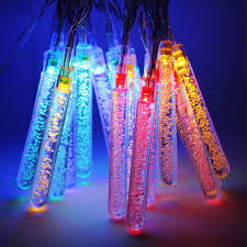 blue led christmas string lights water bubble column battery operated led christmas lights torchstar