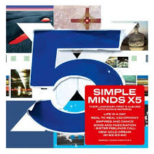 5 x 5 photo album album review simple minds x5 releases releases drowned