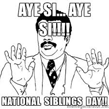 National Sibling Day Meme - 45 amazing siblings day greeting pictures