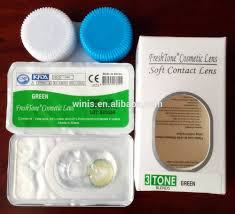 cheap halloween contact lens wholesale fresh tone natural look light hazel cheap colored