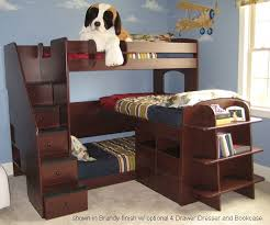 Loft Bunk Beds Trifecta Loft Bunk Bed Bedroom Furniture Beds Berg Furniture