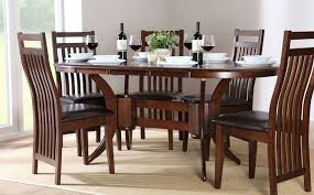 65 inch dining table 78 oval dining table set in natural and antique white decor 1