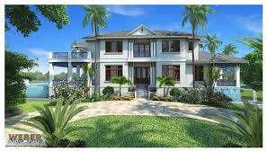West Indies Decor Naples Architect Firm Designs West Indies Style House For Spec Builder