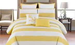 Anchor Bedding Set 8 Oversized Comforter Set Groupon Goods