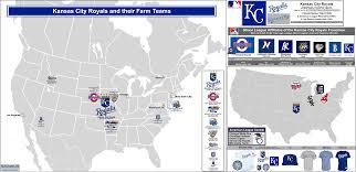 Chicago White Sox Map by Baseball Clubs Farm Teams Billsportsmaps Com
