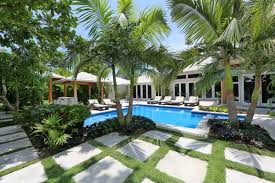 Backyard Landscaping Ideas With Pool Tropical Pools U2013 Beautiful And Exotic Landscape Ideas