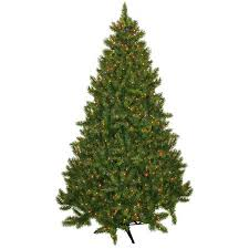 pre lit 7 5 vermont fir artificial tree 700 multi