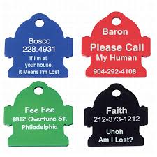 laser engraved dog tags custom dog tags printed on both sides personalized dog tags with