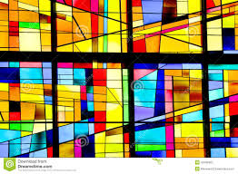 stained glass window modern stained glass window editorial photography image 42406992