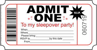 sleepover birthday invitations stephenanuno