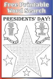 22 free president u0027s day worksheets u0026 printables