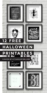 Halloween Printables Free Halloween Printables U2022 Little Gold Pixel