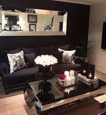 Black Sofa Living Room But I Wouldn T Do A Black Wall With A Black Home