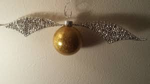 golden snitch ornament tutorial crafting outside the lines