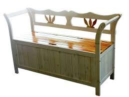 Wood Patio Storage Bench U2013 Amarillobrewing Co