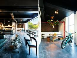 bmw dealership interior tribe coffee bmw motorrad south africa cool hunting