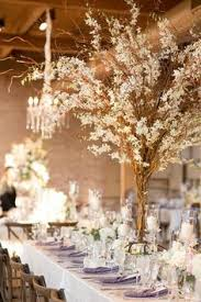 Tree Centerpiece Wedding by White Orchid Wedding Reception Tree Centerpiece Wedding