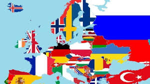Flags Of European Countries 52 Flags Of European Countries Youtube