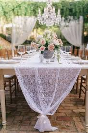 tulle table runner 25 chic table runners to try happywedd