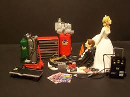 mechanic cake topper auto mechanic wedding cake topper mac tools snap on grooms