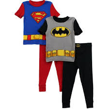 batman superman boys 2 pack pajamas set s4pba51 10