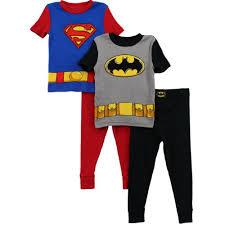 batman superman boys 2 pack pajamas set s4pba51 10