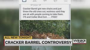 cracker barrel hours thanksgiving day cracker barrel chaos after hundreds of old chairs tossed in dumpster