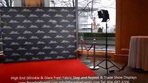 wedding backdrop vancouver step and repeat carpet backdrop photo backgrounds fairmont