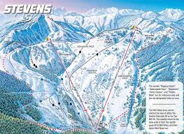 Squaw Trail Map Stevens Pass Backside Trail Map Where I Spent Most My Time