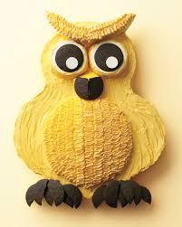owl cake owl cake