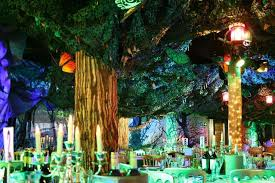 Planet Gold Decor Enchanted Prom Theme Forests Forest Wedding U003cb U003edecorations U003c B