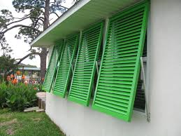make it a choice of bahama shutters for your window treatment